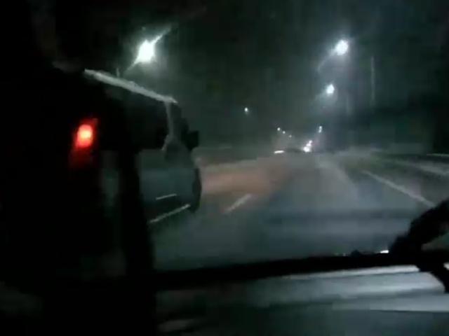 """""""Таинственная"""" ночная дорога под Обнинском"""