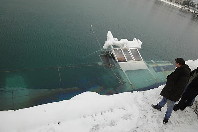 """Почему """"ледяной ветер"""" настолько опасен для кораблей? (9 фото)"""
