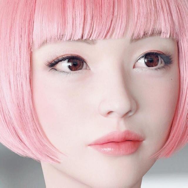 Необычная японская модель Имма покоряет социальные сети (14 фото)