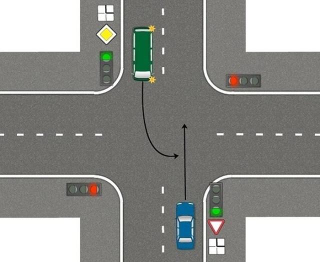 И как некоторые водители получают права? (3 скриншота)