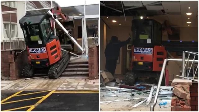 Месть строителя, которому не заплатили за выполненную работу (4 фото + видео)