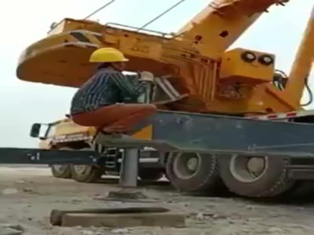 Самый важный работник при подъеме грузов краном