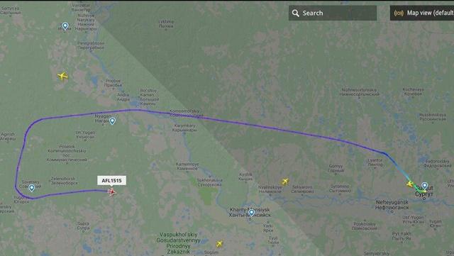 """Пассажир рейса """"Сургут - Москва"""" потребовал направить самолет в Афганистан"""