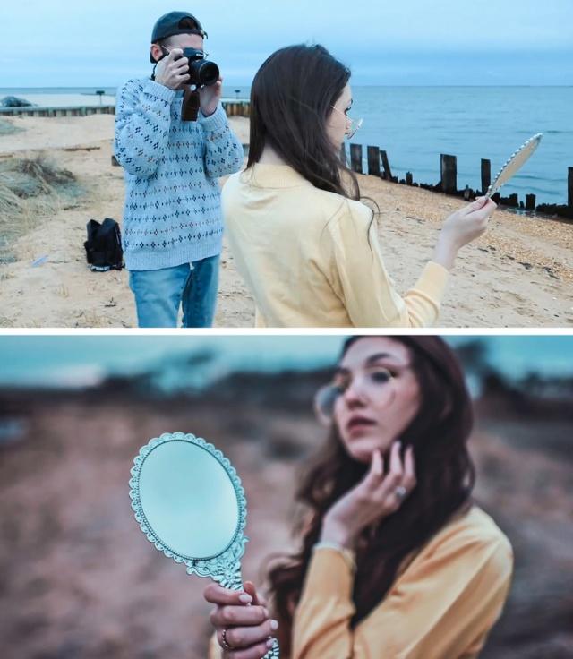 Обратная сторона создания профессиональных фотографий (16 фото)