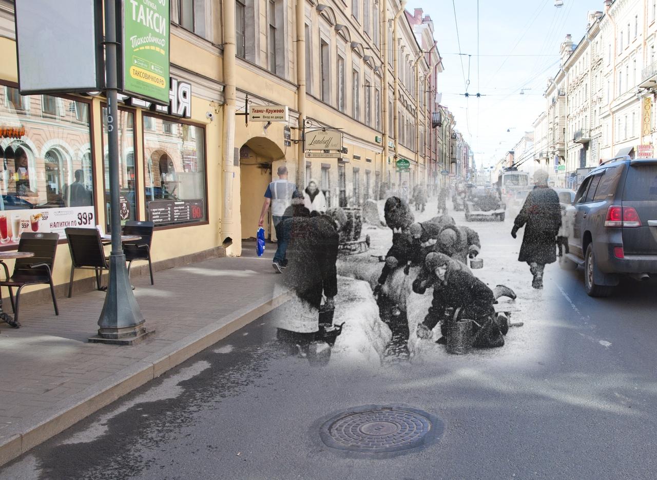 """Фотоколлажи """"Блокадный альбом"""" от Сергея Ларенкова к 75 ..."""