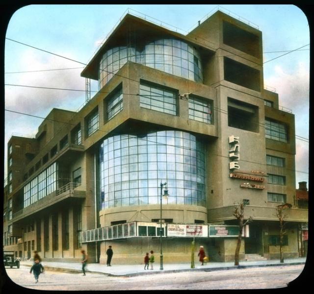 Необычное здание, которое было построено в России 90 лет назад (5 фото)