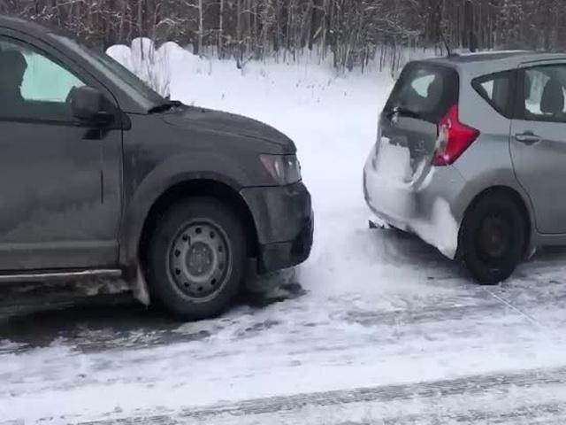 Как канадцы развлекаются в пробке?
