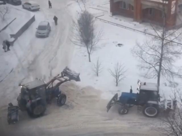 """""""Битва"""" московских трактористов"""