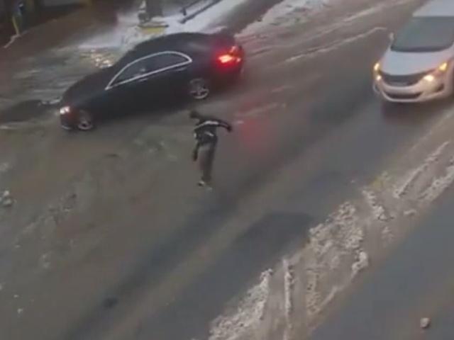Суровый канадский гололёд