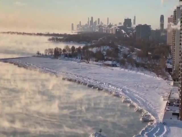 Самый холодный день в истории Чикаго