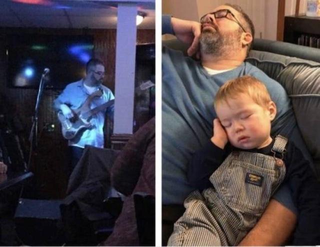 """До и после"" рождения ребенка (30 фото)"