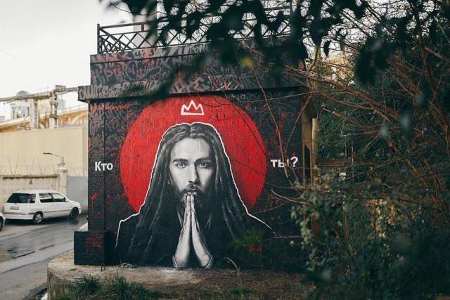В Сочи появилось граффити в память о Кирилле Толмацком (Децл) (2 фото)