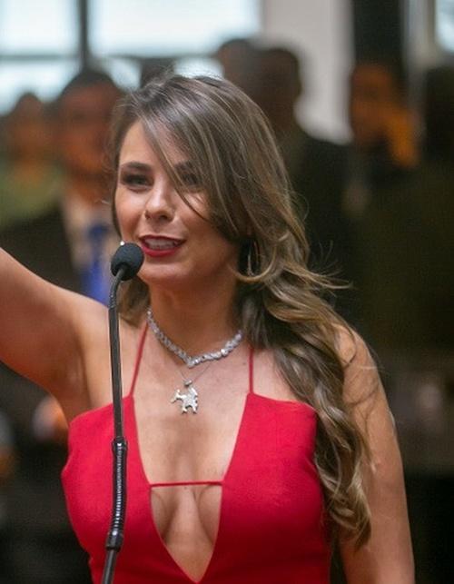 Бразильский федеральный сенатор Ана Паула да Силва удивила всех своим нарядом