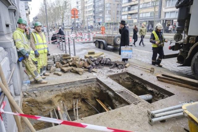 Ограбление банка в Антверпене в лучших традициях голливудских блокбастеров (10 фото)