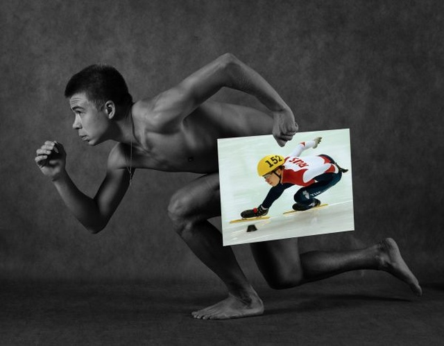 Смелая фотосессия в честь пятилетия открытия XXII зимних Олимпийских игр в Сочи (17 фото)