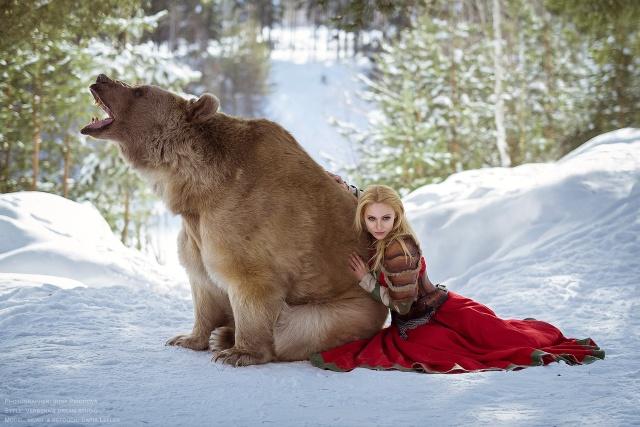 Дарья Лефлер в опасной, но красивой фотосессии (11 фото)