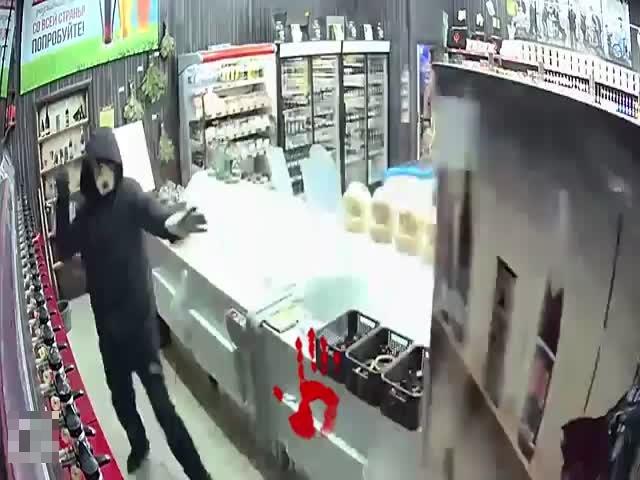 Дерзкое ограбление пивного магазина в Челябинской области пошло не по плану