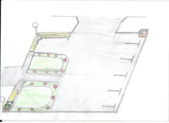 Дизайн-проекты благоустройства села в Удмуртии, которые похожи на детские рисунки (6 фото)