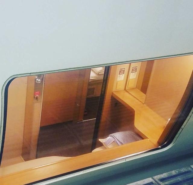 """Японский """"ночной поезд"""" Sunrise Izumo/Seto (12 фото)"""