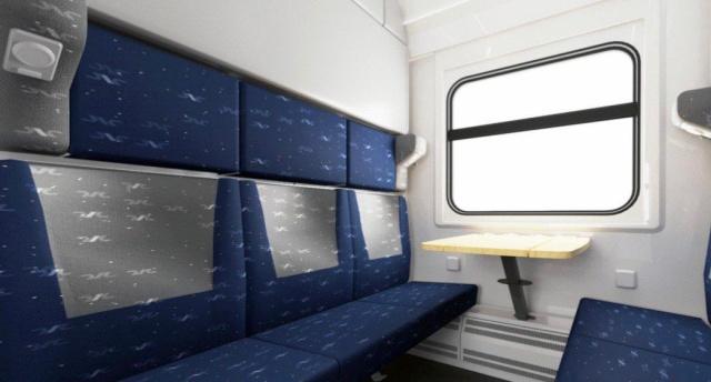 Как будут выглядеть новые купейные вагоны (6 фото)