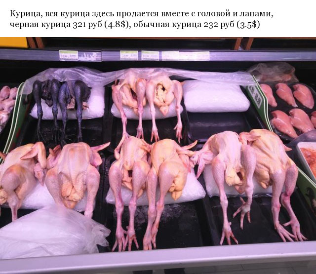 Какое мясо можно купить в супермаркетах Китая, и сколько оно там стоит (14 фото)