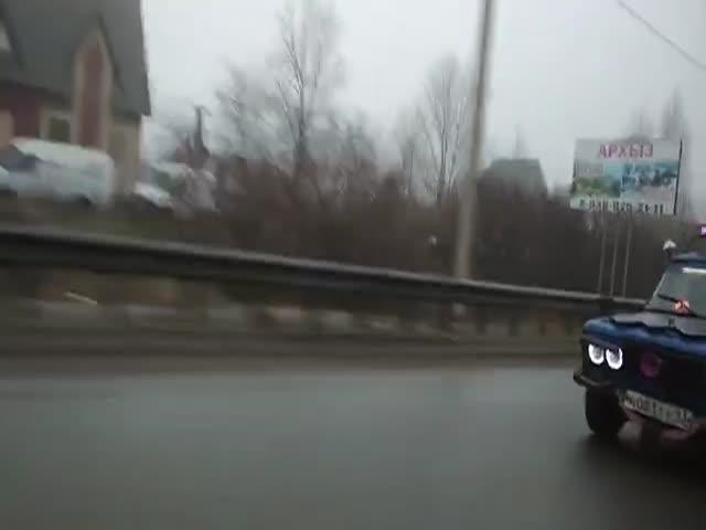 """""""НЛО"""" на дорогах Краснодара"""
