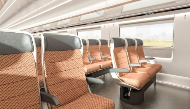 Китайский высокоскоростной поезд для российских железных дорог (9 фото)
