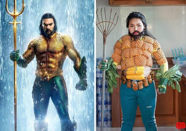 Бюджетный косплей с забавными костюмами (30 фото)