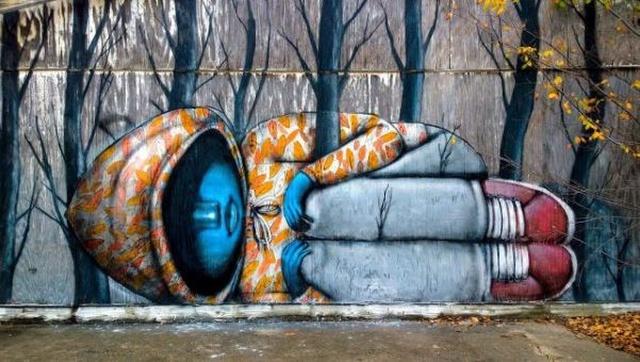 Креативный стрит-арт (25 фото)