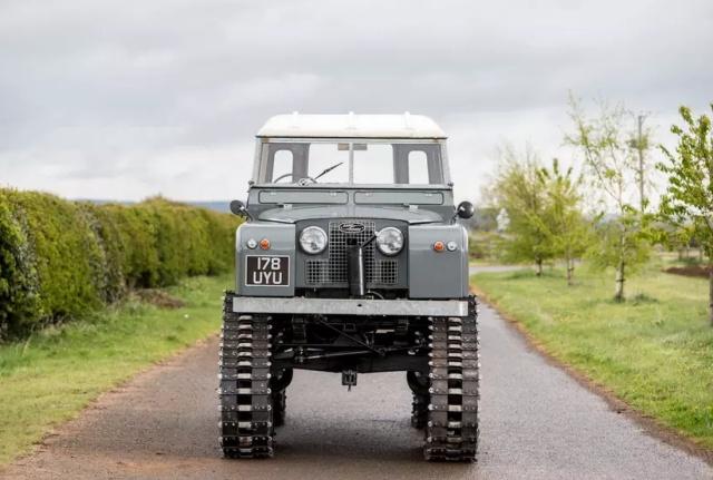 Необычный вездеход Land Rover Series II от Cuthbertson (10 фото)