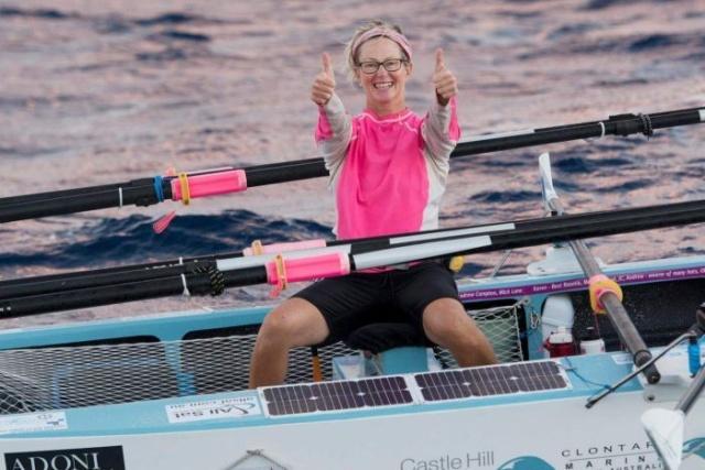 Как выглядят руки Мишель Ли, которая пересекла Атлантический океан на веслах (4 фото)