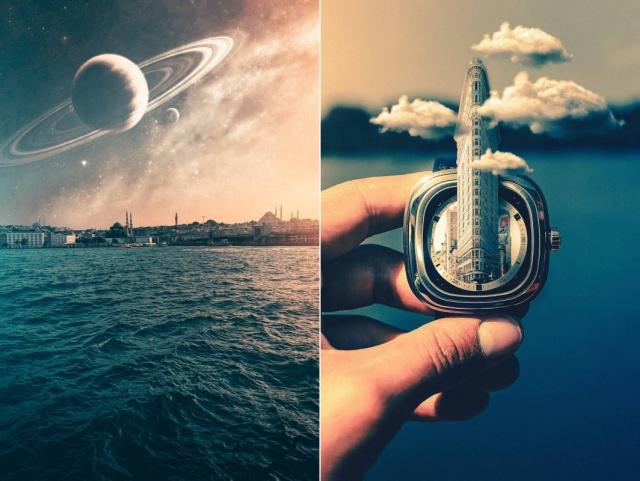 Удивительные фотоманипуляции и иллюзии от Мурата Демира (25 фото)