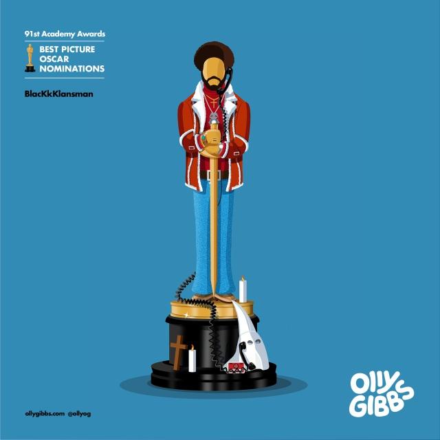 "Креативные статуэтки ""Оскара"" за 2019 год (9 фото)"