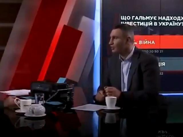 Виталий Кличко оговорился, рассказывая о смертности в больницах Киева