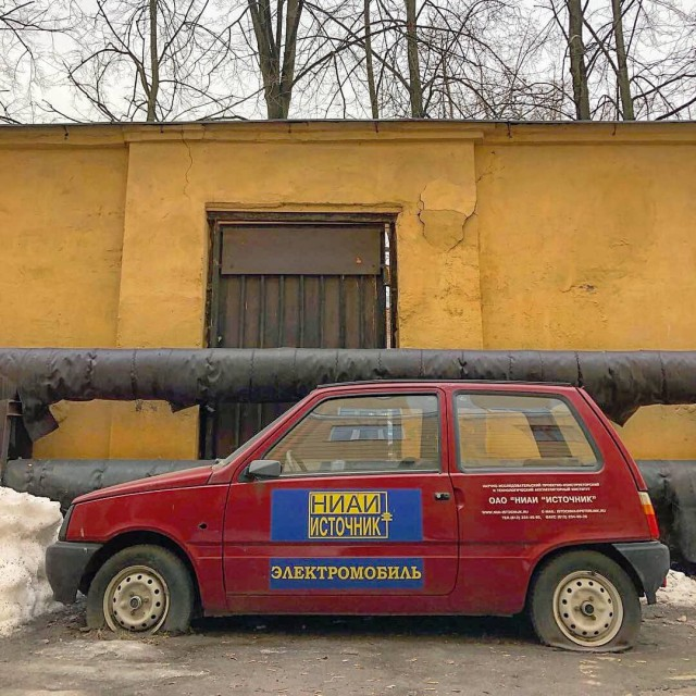 """Электромобиль """"Ваз-1111Э"""" (9 фото)"""