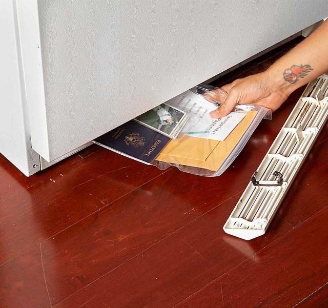 Где в частном доме можно сделать тайник (26 фото)