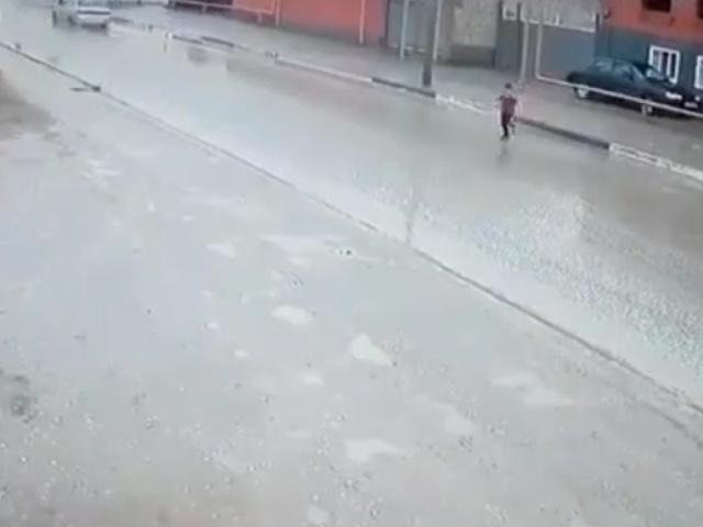 Как нельзя перебегать через дорогу