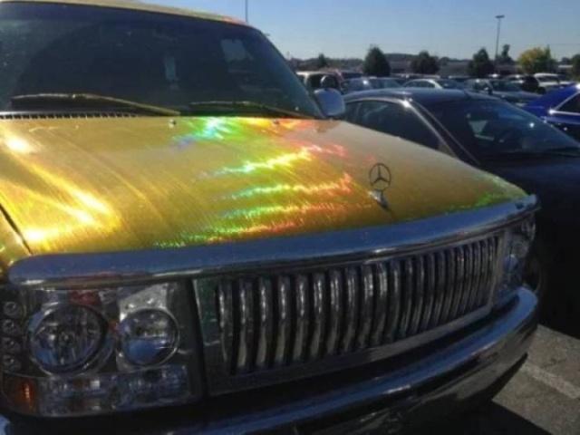 Необычный тюнинг и странные автомобили (51 фото)