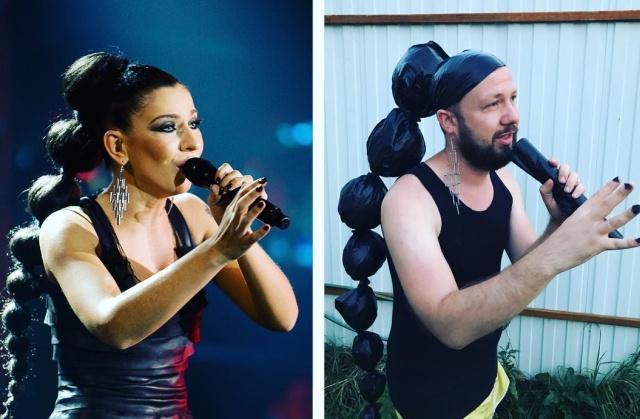 Блогер Юрий Истерика пародирует знаменитостей (20 фото)