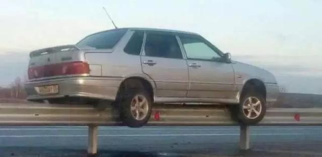 Автомобильные фейлы и происшествия (33 фото)