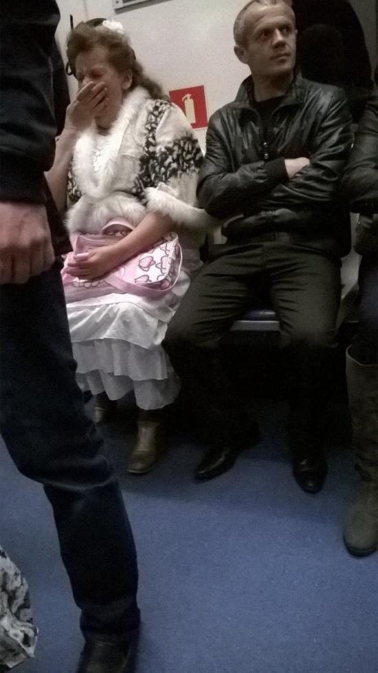 Странные модники в нашем метро (36 фото)