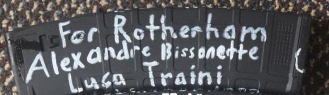 Надписи на рожках автомата Брентона Тарранта, устроившего массовую стрельбу в мечетях в Новой Зеландии (8 фото)