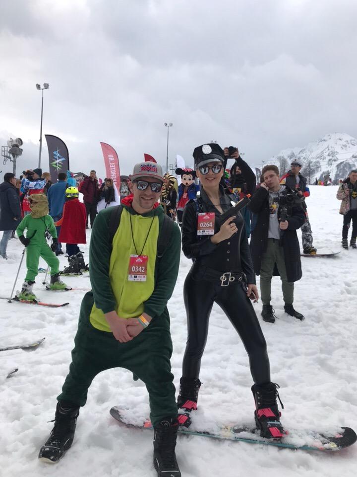 Фестиваль BoogelWoogel собрал в Сочи 25 тысяч лыжников и сноубордистов (28 фото + видео)
