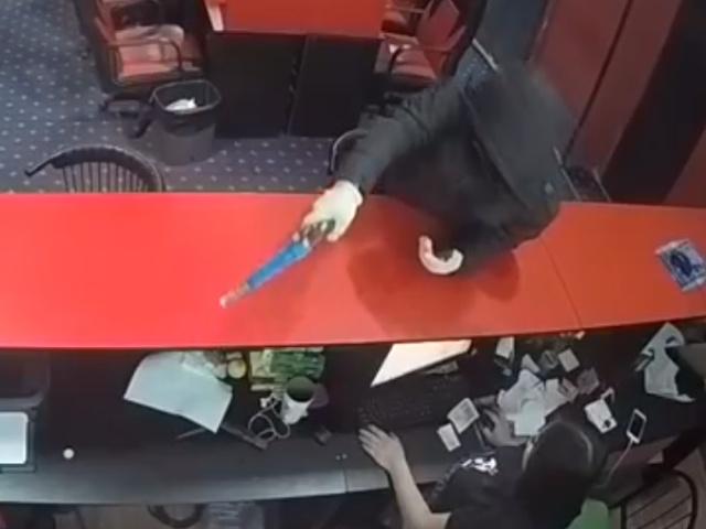 Проспал ограбление букмекерской конторы