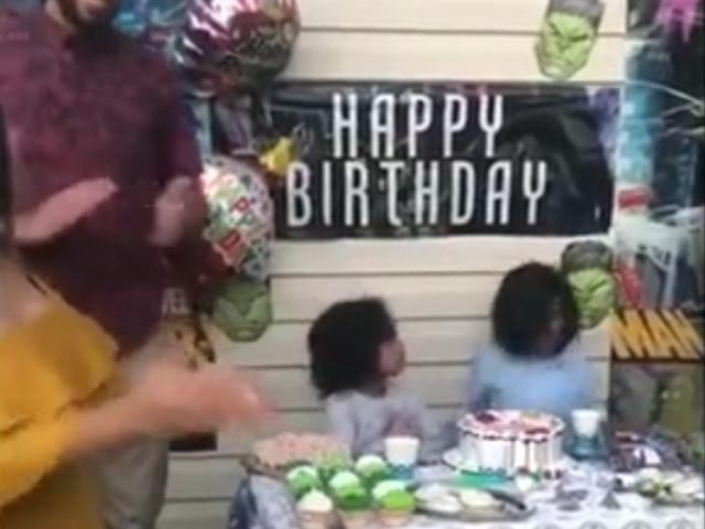 Празднование детского дня рождения пошло не по плану