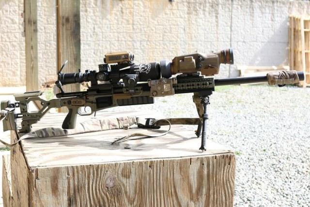 Винтовка победителя военного снайперского соревнования в США (2 фото)
