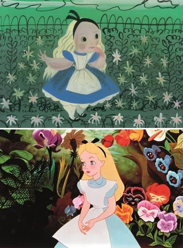 Зарисовки персонажей Disney (30 фото)
