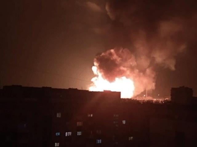 Взрыв газа на заправке в Кропивницком