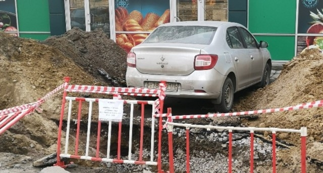 Не успел убрать машину вовремя - твои проблемы (3 фото)