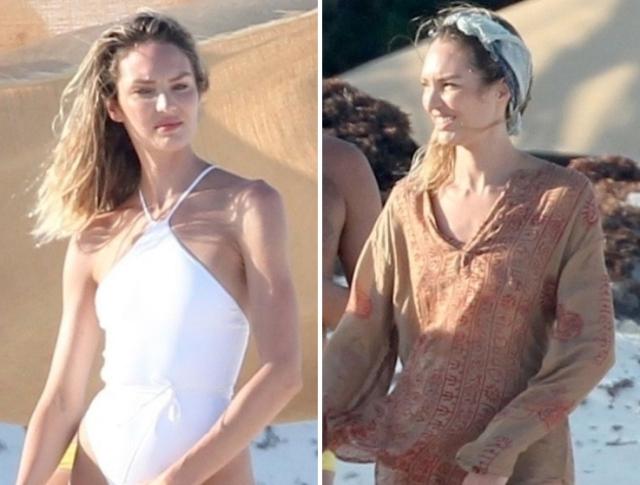 Обнаженный ангел Victoria's Secret Кэндис Свейнпол (13 фото)